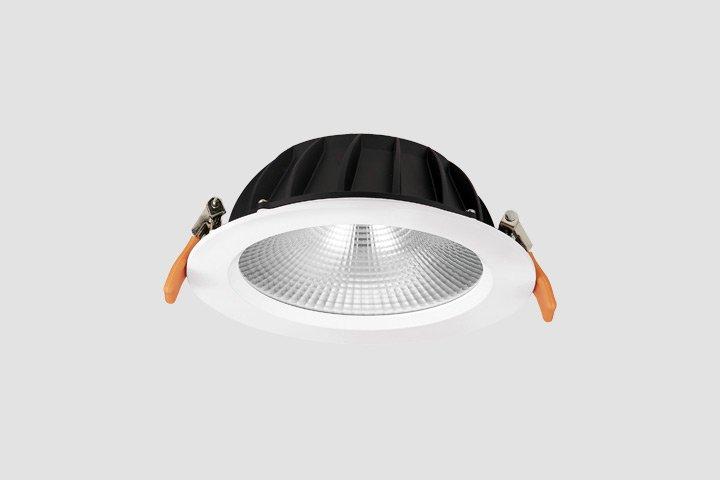 Faretto da incasso rotondo COB LED 35W