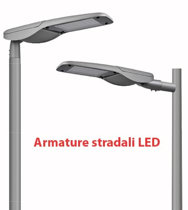 banner armature stradali LED