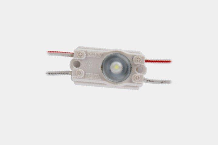 Modulo 1 LED 2835 con lente 165°