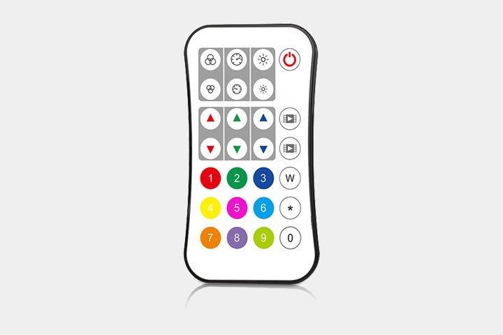 Telecomando per centralina LED RGB RGBW