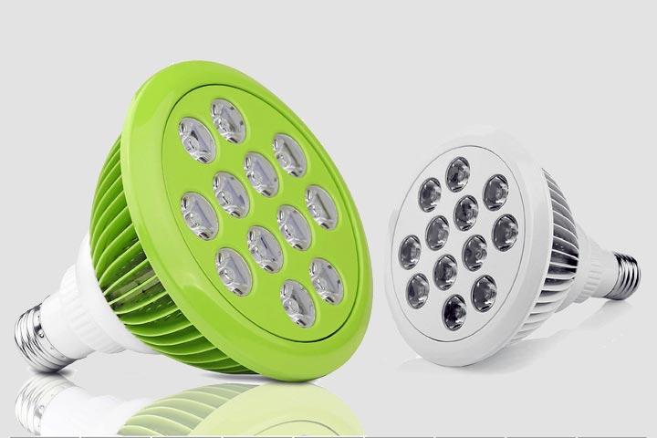 Lampada LED 12W 15W PAR38 Crescita piante