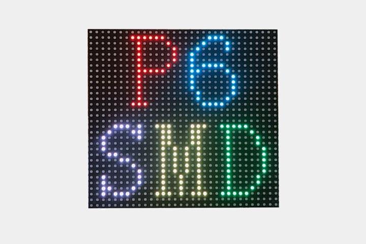 Modulo a LED per Display RGB P6 SMD da esterno